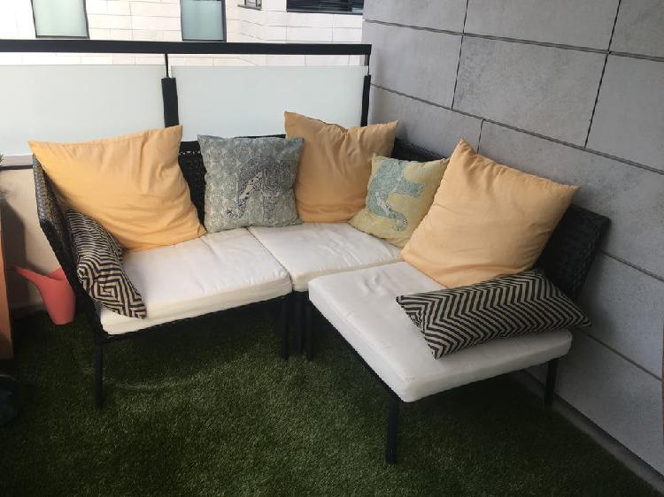 Sofá de modulos de jardín