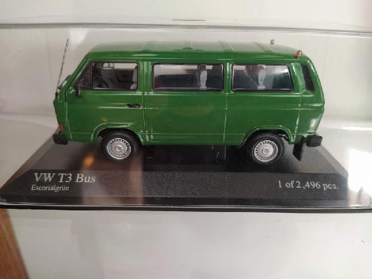 Vw volkswagen t3 bus 1:43 minichamps