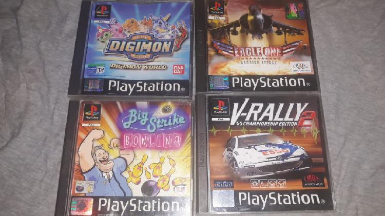 Juegos playstation (completos )