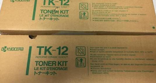 2 toner en su caja tk 12 nunca usados