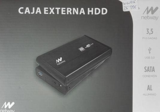 """Caja externa para disco duro de 3,5"""""""