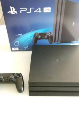 Consola ps4 pro nueva completamente