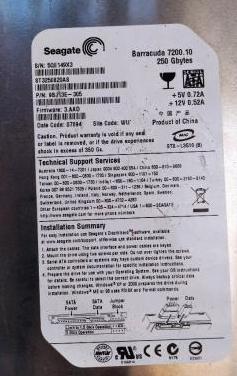 Disco duro de 250gb de pc numero-11