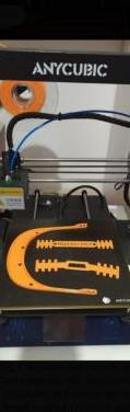 Impresora 3d anycubic i3 mega s con mejoras