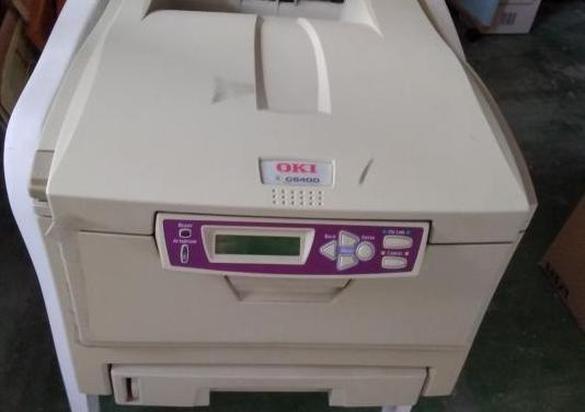 Impresora oki c5400 laser color, bien conservada,