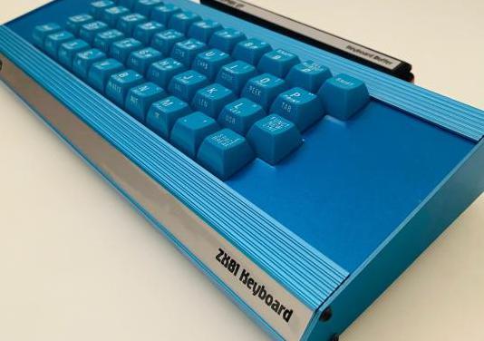 Memotech zx 81 keyboard blue