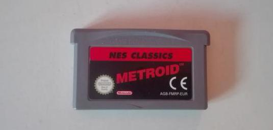 Metroid, game boy advance