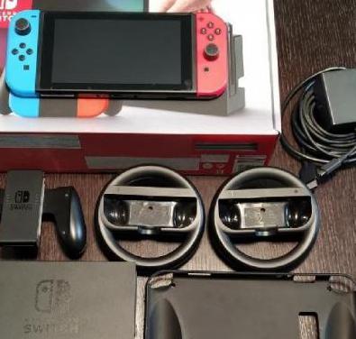 Nintendo switch nueva con accesorios originales