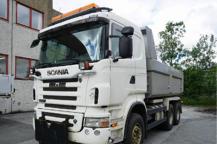 Scania r500 6x4 500 cv dump tipper truck mercedes
