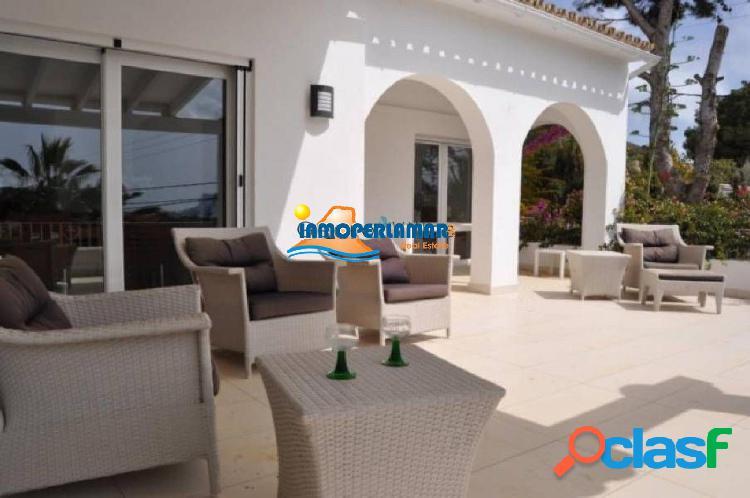 Villa vista al mar en Moraira 1
