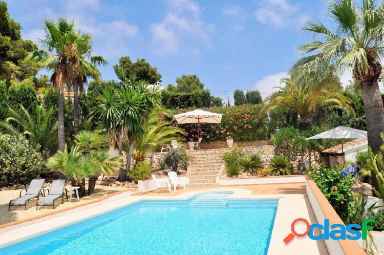 Villa vista al mar en Moraira 3