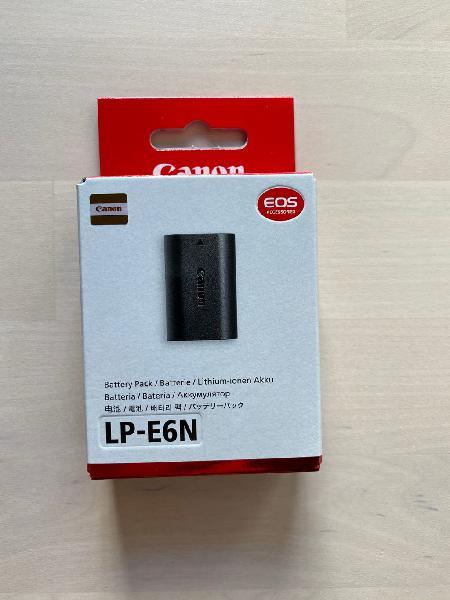 Canon bateria lp-e6n