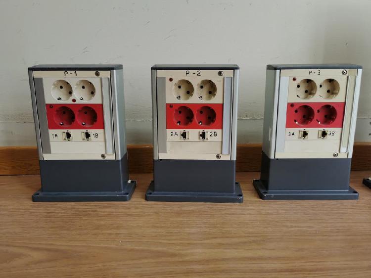 Cajas superficie para redes eléctricas y datos