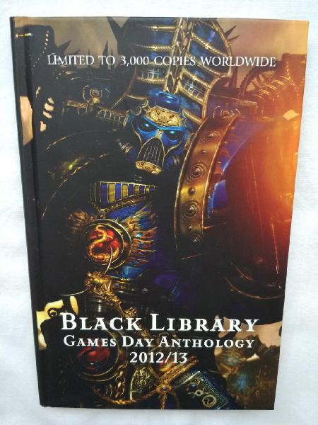 "Games day anthology 2012/13"" (inglés), warhammer"
