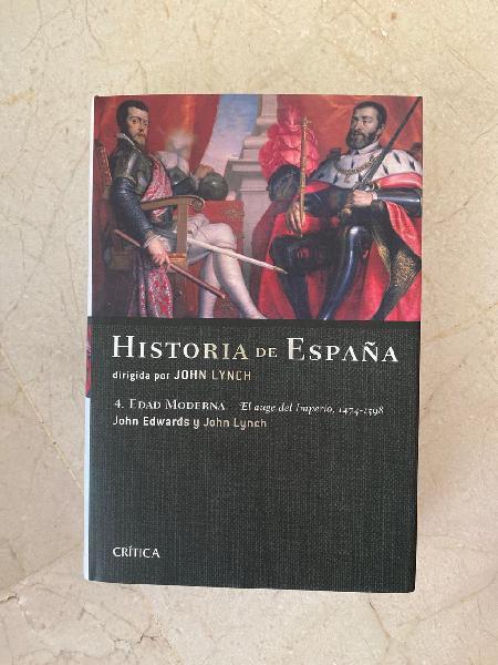 Historia de españa. 1474-1598. john linch