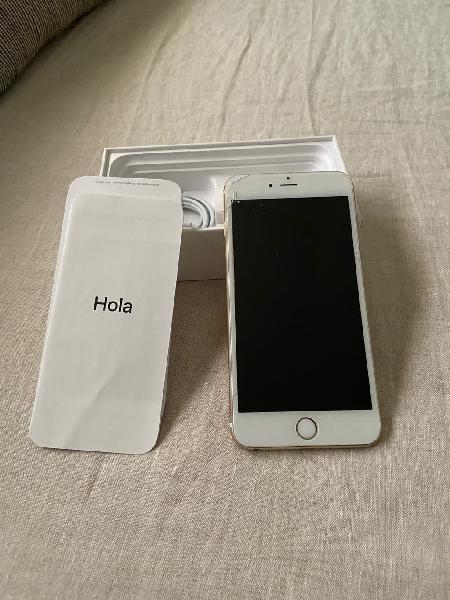 Iphone 6 plus blanco / oro 16gb