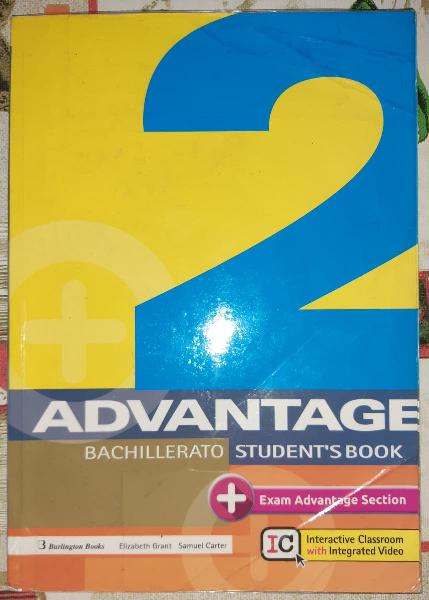 Inglés advantage 2, burlington books