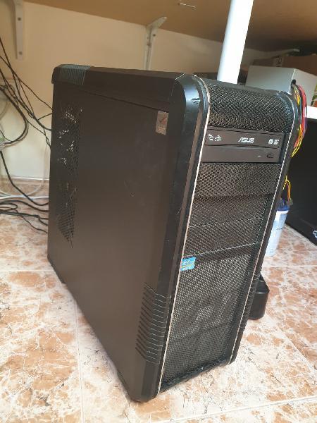 Intel core i7, ordenador sobre mesa