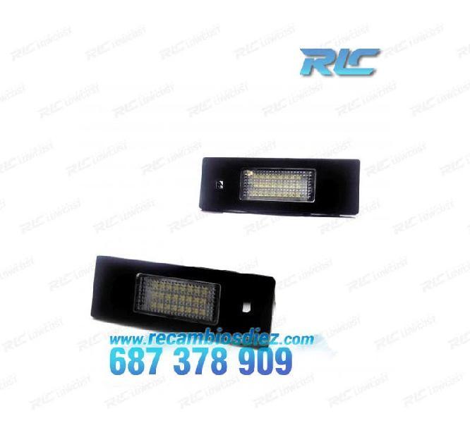Luces de matrícula led bmw e63 y e64