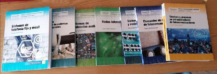Libros fp sistemas telecom e informáticos