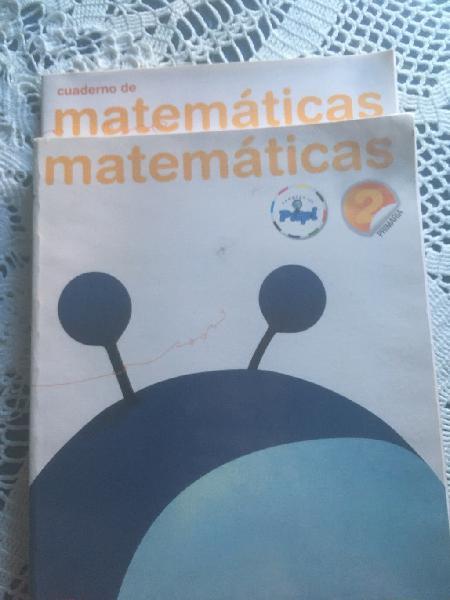 Libros de 2,,3 y 6 de primaria