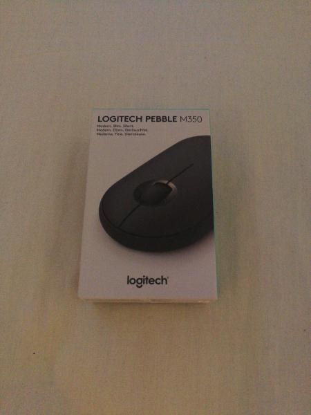 Ratón inalámbrico logitech pebble m350