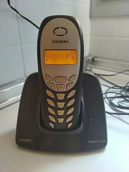 Teléfono inalámbrico siemens gigaset a140