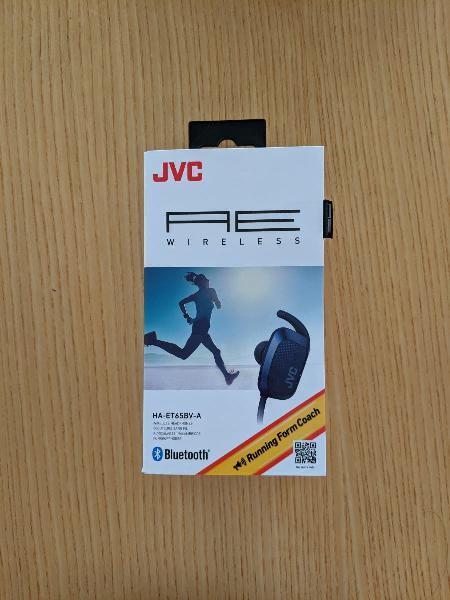 Auriculares inalámbricos jvc ha-et65bv-a