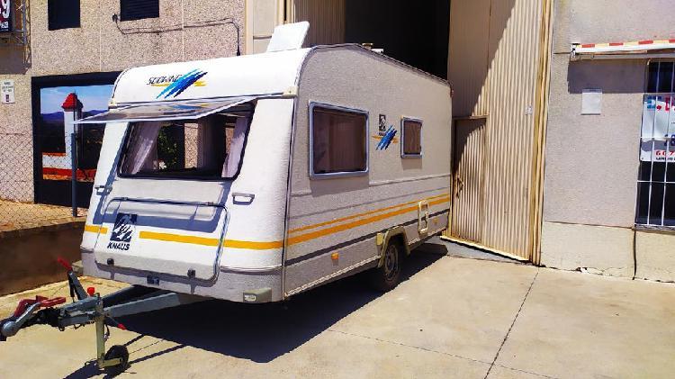 Caravana knauss menos de 750 k buen estado