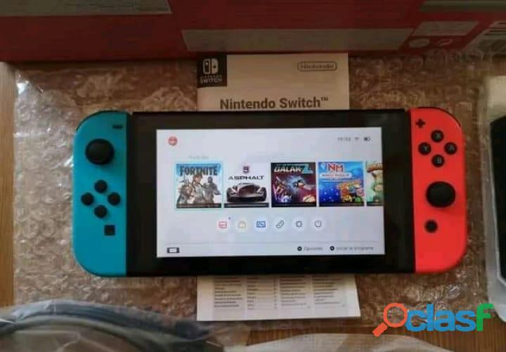 Nintendo switch nueva a estrenar 1