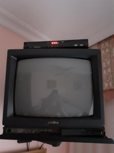 Televisión de 14 pulgadas + tdt grabador