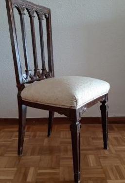 6 sillas comedor madera maciza