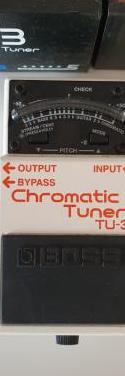 Afinador chromatic turner
