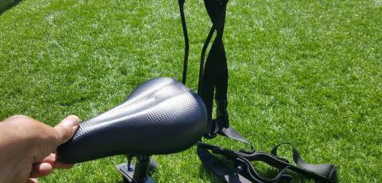 Asiento delantero para bici