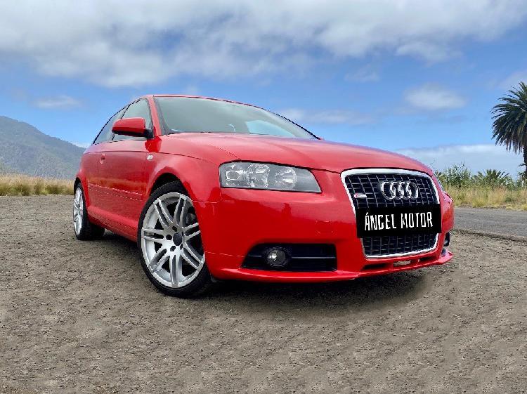 Audi a3 s line nacional! con 1 año de garantía!