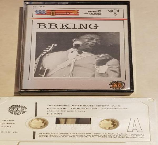 B.b.king / the original jazz & blues story nº 5 / mc -