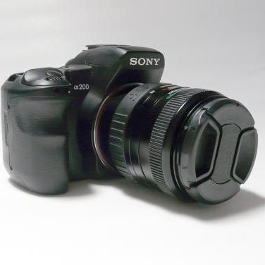 Camara sony alpha 200 reflex digital 28-80mm