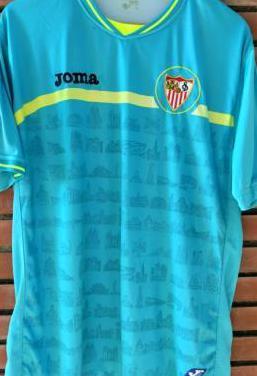 Camiseta fútbol sevilla 2010/11