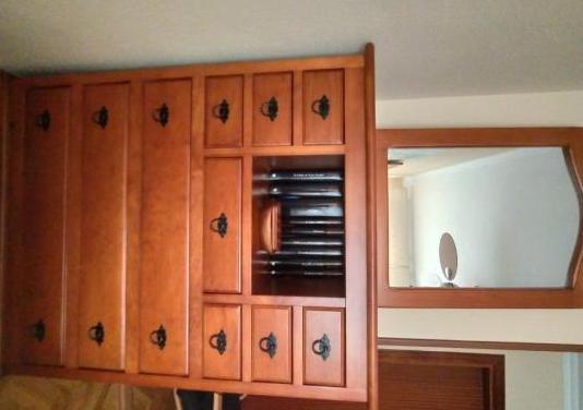 Conjunto dormitorio madera maciza