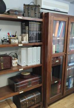 Conjunto muebles de teka