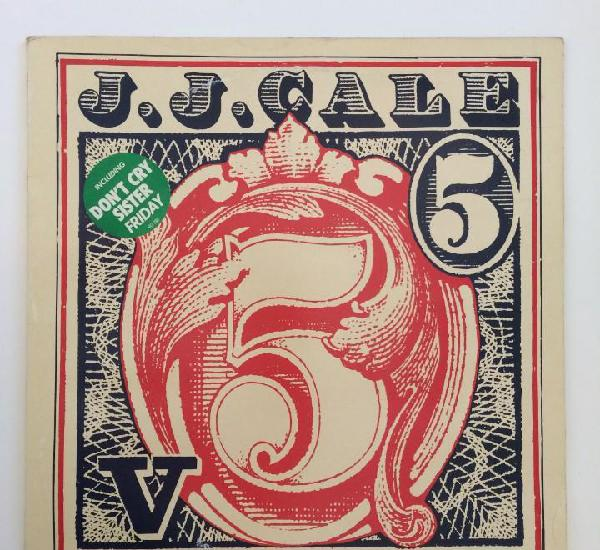 J.j. cale ?– 5 france 1979 eurodisc
