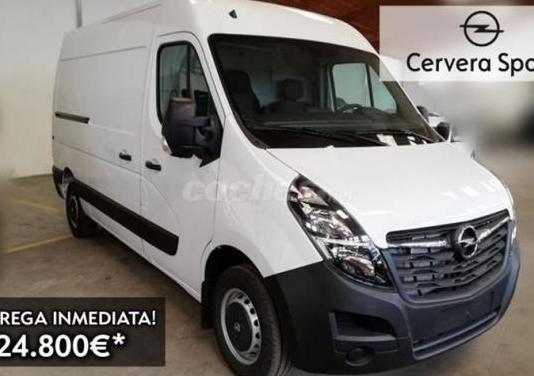 Opel movano 2.3 cdti ss 110kw 150cv l2 h2 f 3.5t