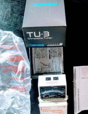 Pedal afinador boss tu-3 chromatic tuner