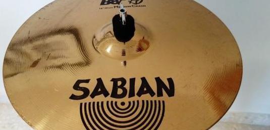 Plato sabian b8 pro medium crash 16/41 cm