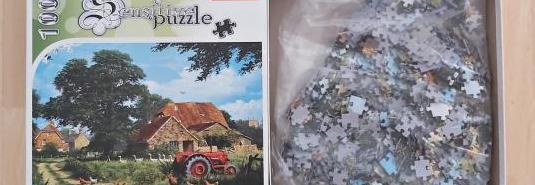 Puzzle 1000 piezas en excelente estado.