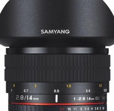 Samyang 14mm. f2.8 ed as if umc, para canon