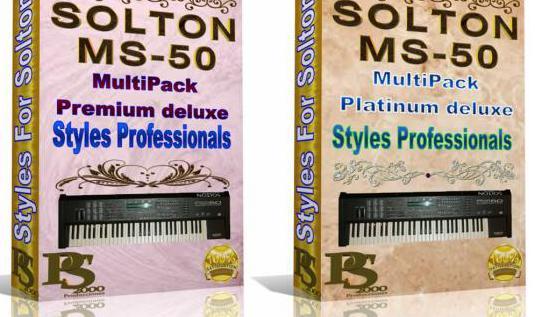 Solton mc-50 - pack premium de ritmos
