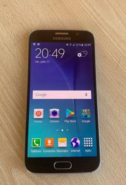 Samsung galaxy s6 32gb libre color azul y regalos