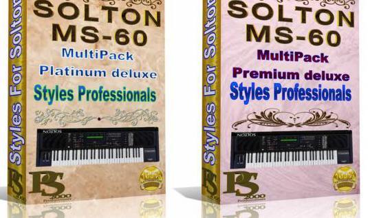 Solton mc-60 - pack premium de ritmos