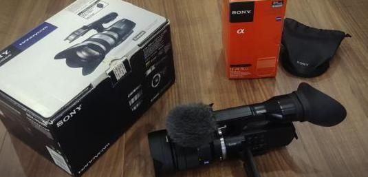 Sony nex vg10 zeiss 24-70mm f4